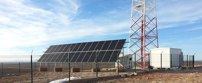 Lắp điện năng lượng mặt trời Hybrid cho trạm viễn thông