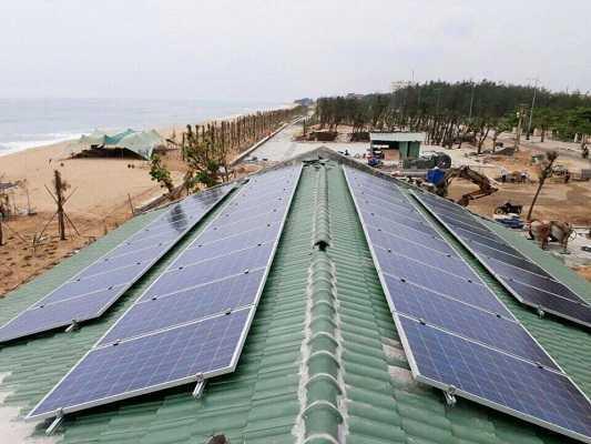 Lắp điện năng lượng mặt trời độc lập cho vùng chưa có điện lưới