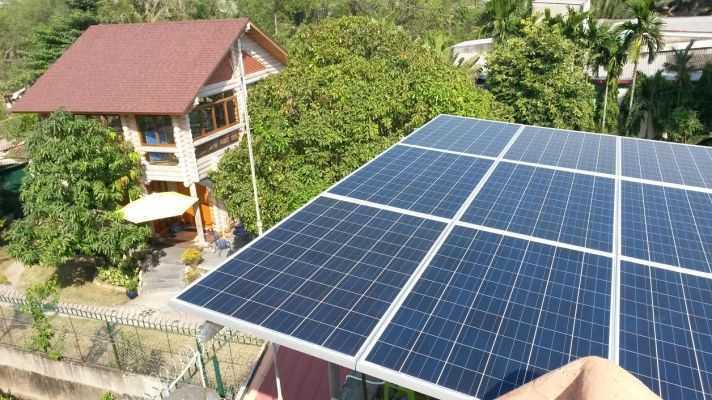 Lắp điện năng lượng mặt trời cho các gia đình, doanh nghiệp muốn có hệ thống điện riêng